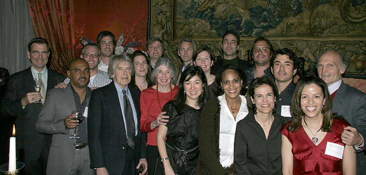 A celebration of the 20th anniversary of Cornell in Rome in 2007.   photo / provided