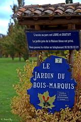 Le jardin du Bois Marquis.