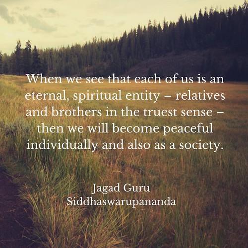 Spiritual Entity- JagadGuru Siddhaswarupananda
