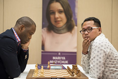 20161009_millionaire_chess_tie_breaks_1791 Pontus Carlsson Mark Paragua