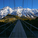 Bridge to Mt Cook by Frahman Photography
