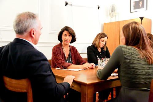 Teresa Morais em Visita à Associação para o Planeamento da Família