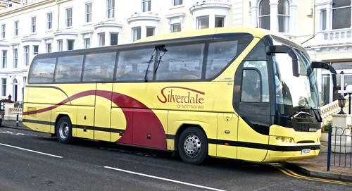 PK13 GCX 'Silverdale' Neoplan N2216SHD Tourliner. on 'Dennis Basfords railsroadsrunways.blogspot.co.uk'