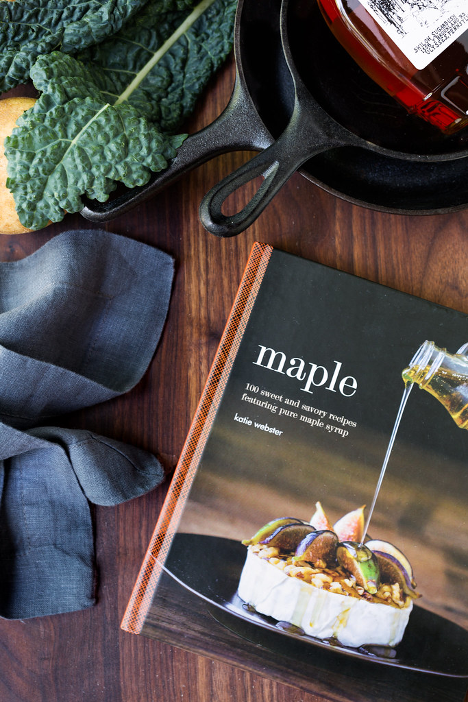 Katie Webster's Maple Cookbook #sponsored