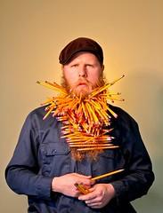 pencil beard: peter karis