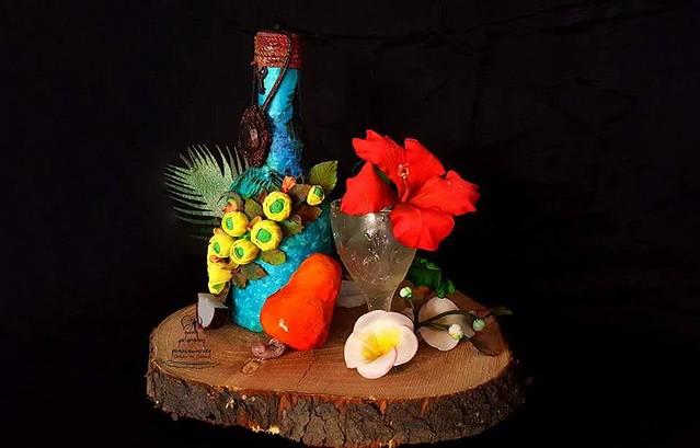 Cake for Indian Cuisine Theme by Shikha Garg