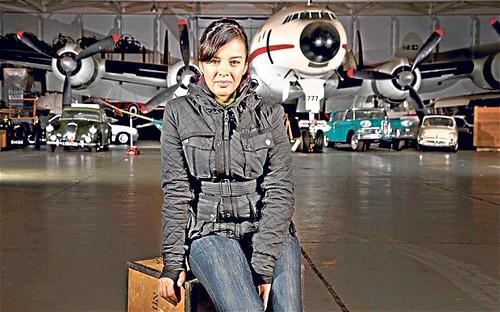 Liz Bonnin Horizon BBC