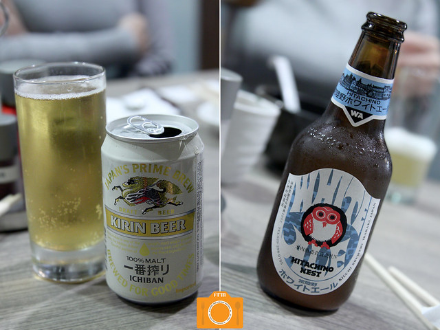 Mitsuyado Hitachino Nest and Kirin Beer