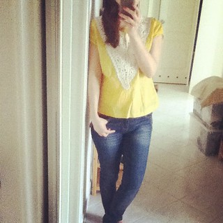 MMM2 Yellow blouse