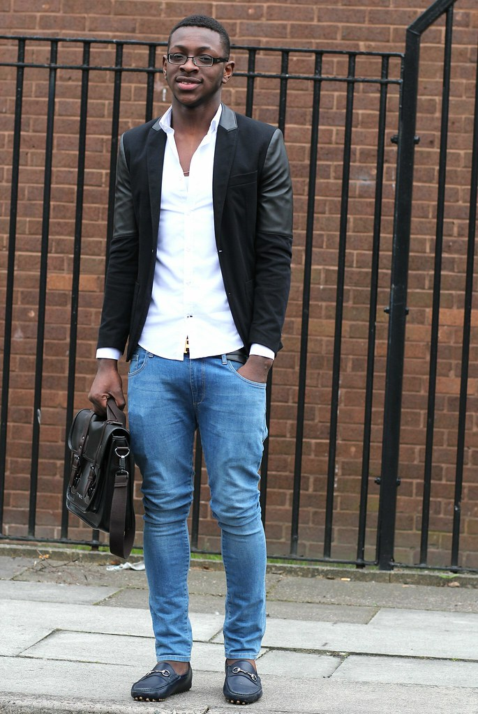 men's style, leather sleeve blazer, men's latest trend blazer, blazer trend for men