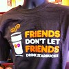 Dunkin Donuts vs #Starbucks in a #slogan smack down. #marketing #coffee