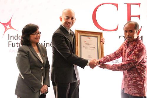 The Indonesia Future Business Leader 2013: Heru Muara Sidik.