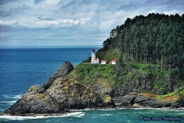 Heceta Head Lighthouse - Florence, OR.
