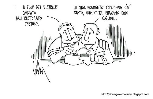 Elettorato cretino by Livio Bonino