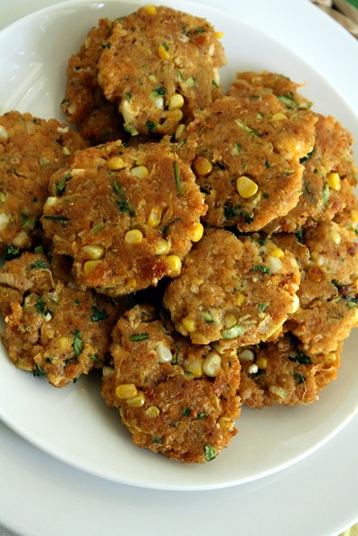 8896839215 c9b0c28c49 z Quinoa Patties with Corn, Feta and Zucchini