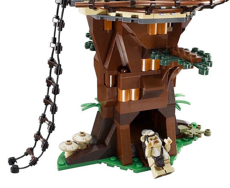 Lego Ewok Treehouseewok Village 2 Onvacations Wallpaper