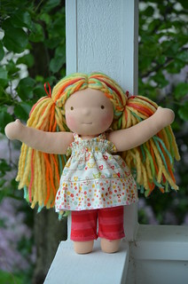 "Gwen 12"" Violet & Poppies doll"