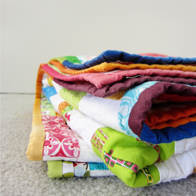 lizzys quilt - binding