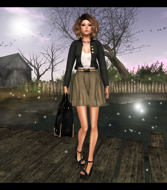 LpD- Marina Outfit Brown-Black