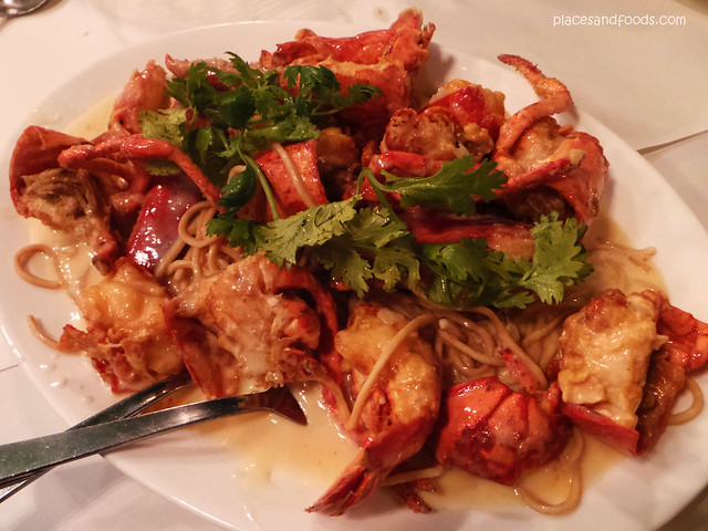 lobsterman Braised Lobster with Yee Mee
