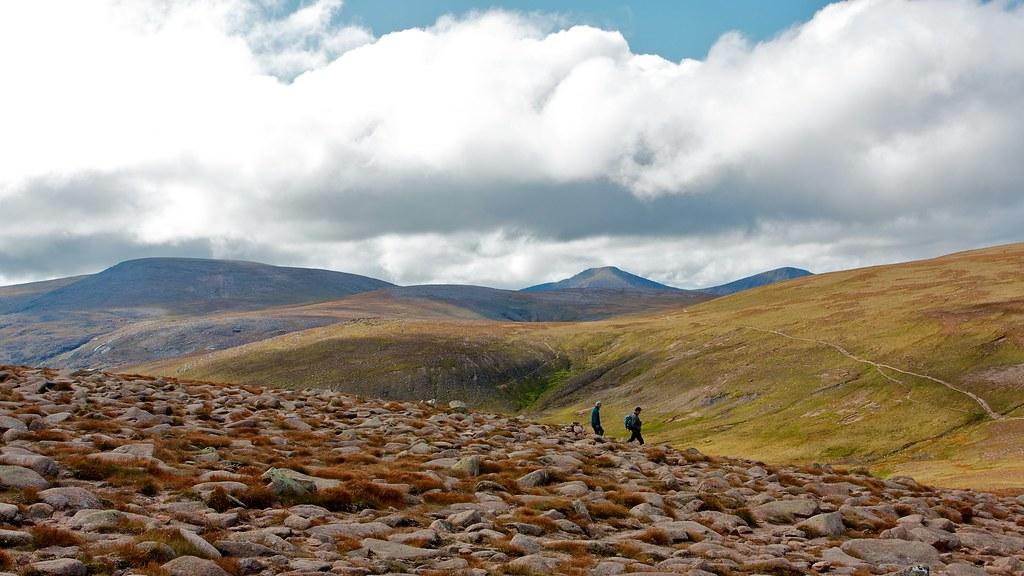 Wandering amongst the Cairngorm giants