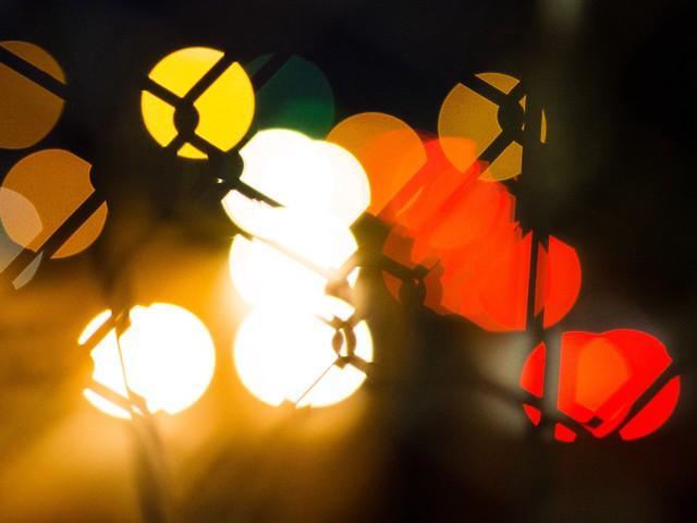 Freeway Lights, Through Chainlink