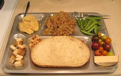 World War II Navy Dinner Tray with a Very Modern V…