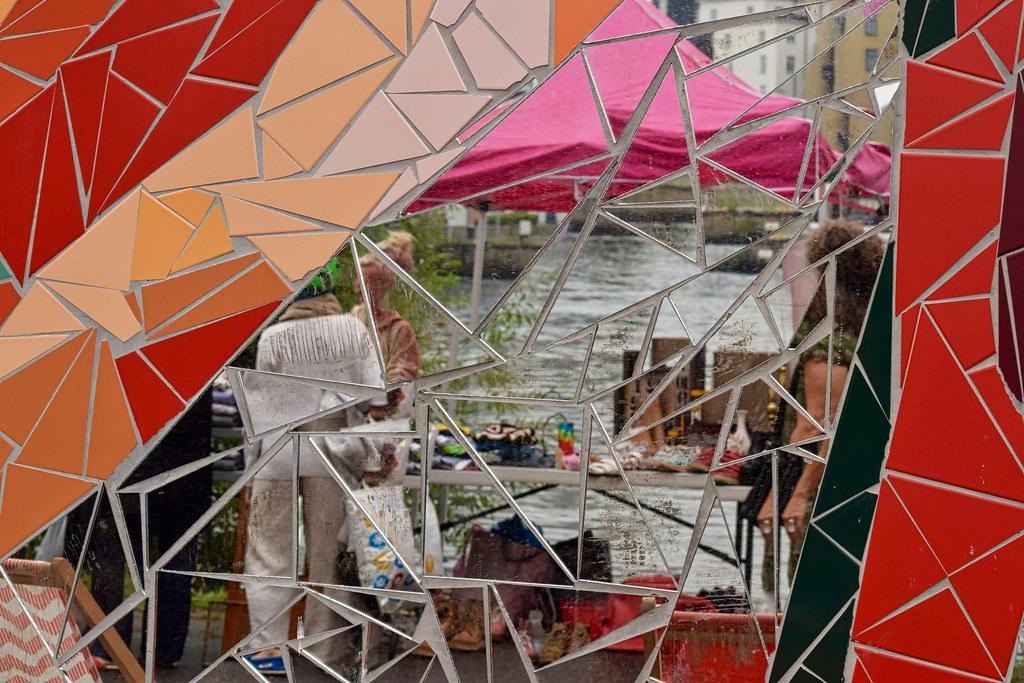 Realidad geométrica: mercado reflejado