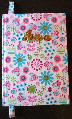 Cloth Fabric Covered Bookcover