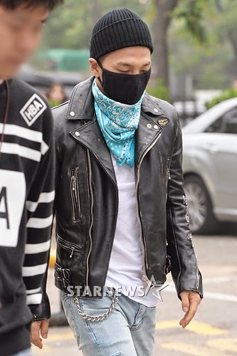 Taeyang BIGBANG KBS Music Bank arrival 2015-05-15 PRESS004