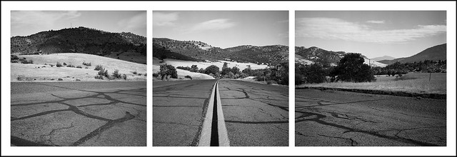 Hornbrook backroad triptych