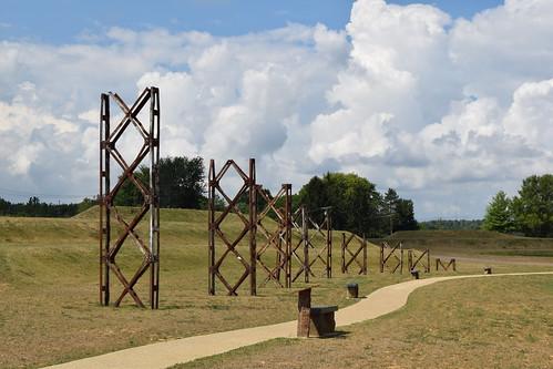 arielfoundationpark mountvernon mtvernon knoxcounty ohio clouds sculpture art