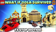 WHAT IF OOLA SURVIVED | Lego Star Wars Stop Motion FX Film Diorama | Hilarious ✔