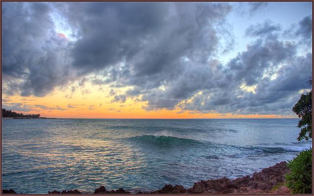 Sun down at Turtle Bay