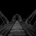 Abandoned railwaybridge. by lortopalt