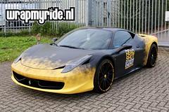 Ferrari 458 Headshot