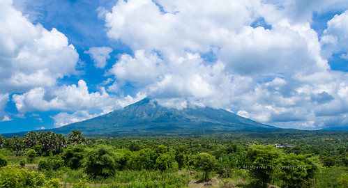Mount Agung by Nathalie Stravers