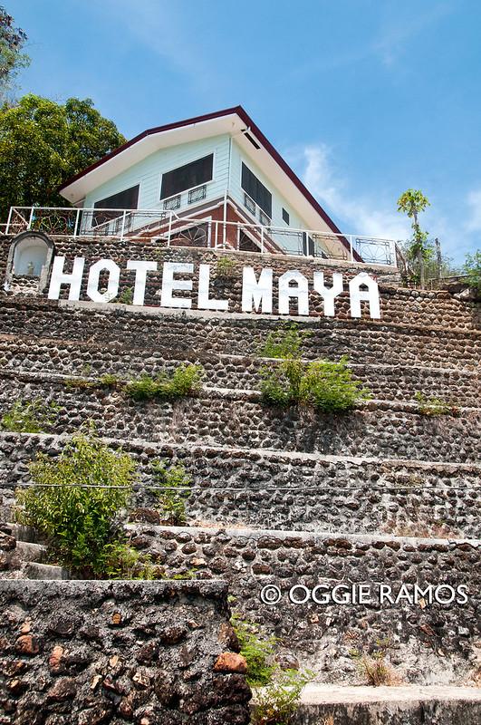 Culion - Hotel Maya Signage