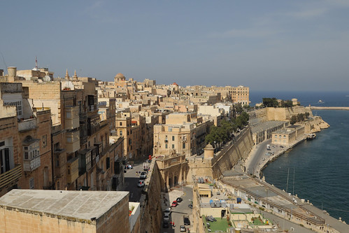 Valletta from Upper Barrakka Gardens