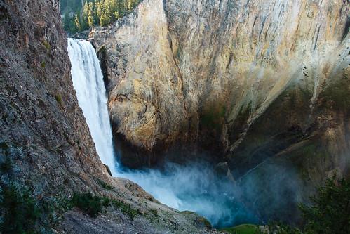 Yellowstone Grand Canyon Lower Falls