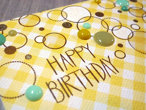 Birthday Dots - Close Up