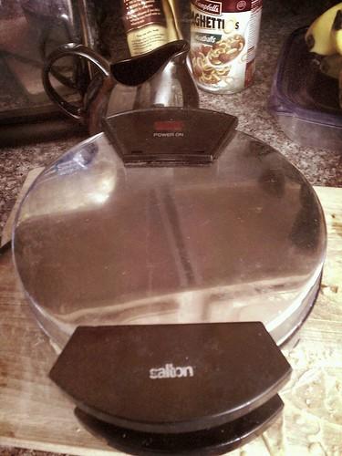 R.I.P. waffle iron by djkntz