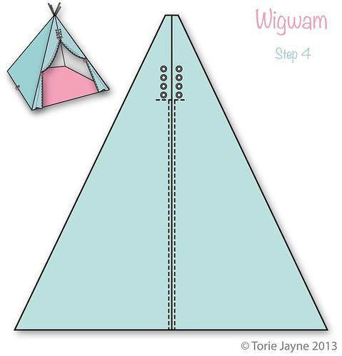 Wigwam Step 4