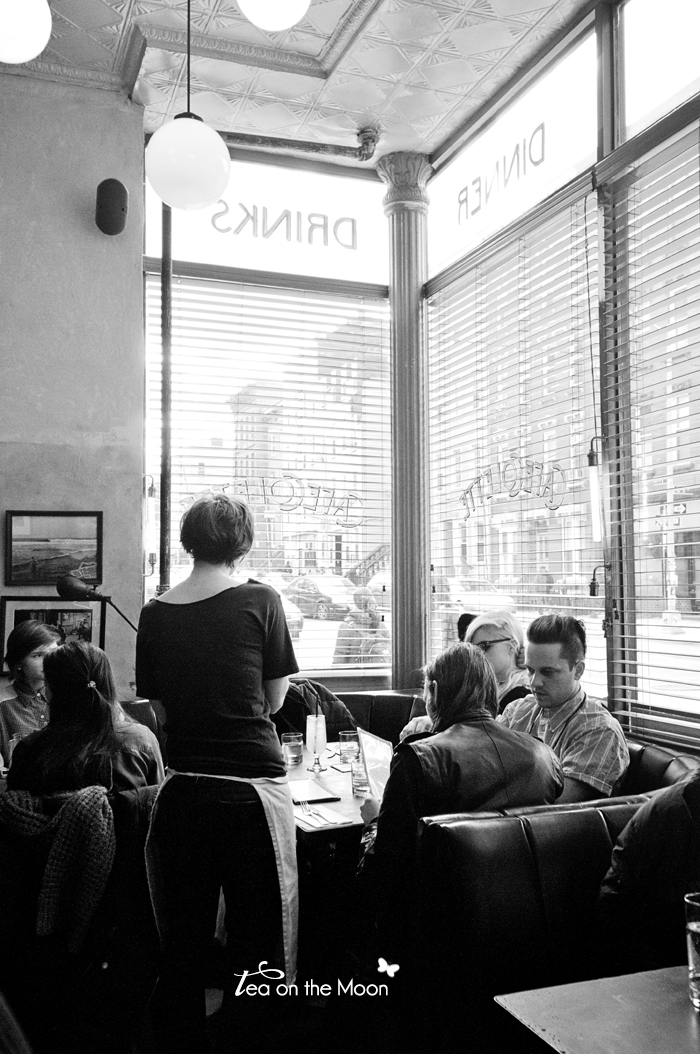 Cafe Colette Williamsburg Brooklyn New York bw