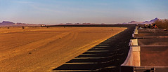 the longest train in the world, sahara desert, mauritania, north west africa