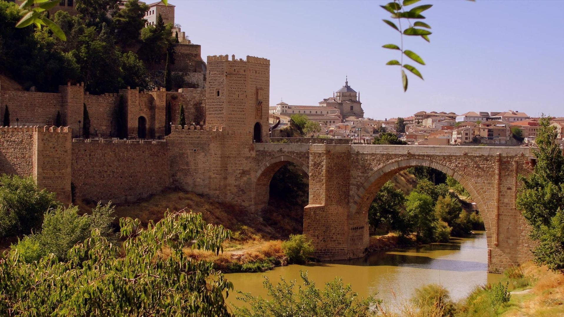 Puente de Alcántara sobre el río Tajo, en Toledo. Autor, Francisco Javier Martín