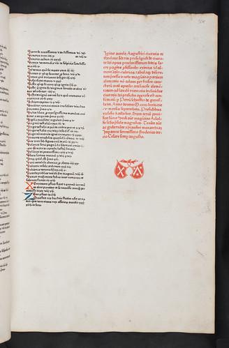 Colophon of Augustinus, Aurelius:De civitate dei