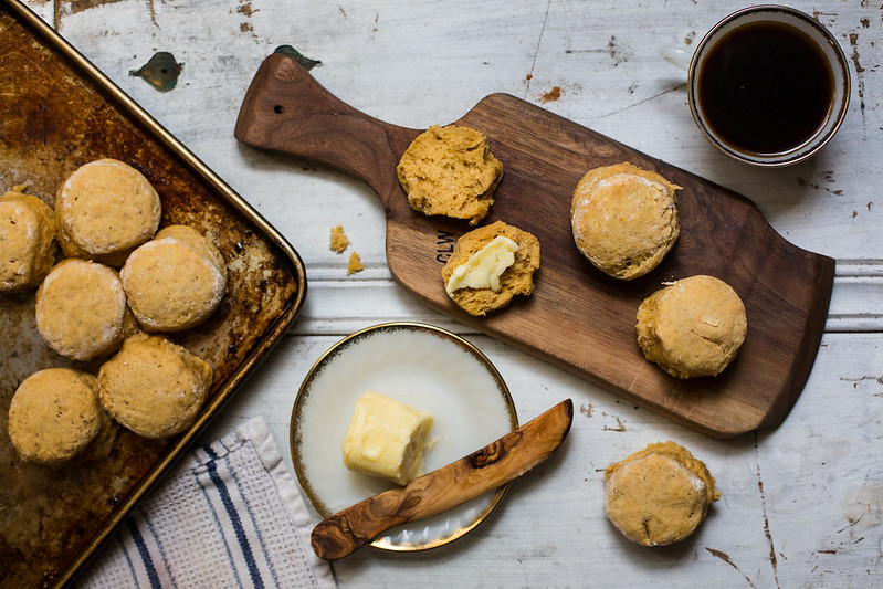 Honey Pumpkin Biscuits from Food52