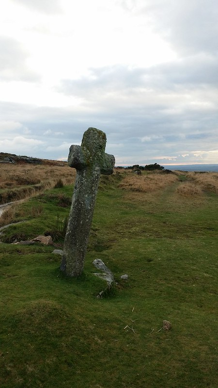 Cross near Feather Tor #dartmoor #sh