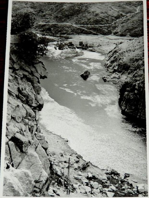 Vaguada de Valdecolomba y Molinos de Daicán desde Roca Tarpeya en 1956